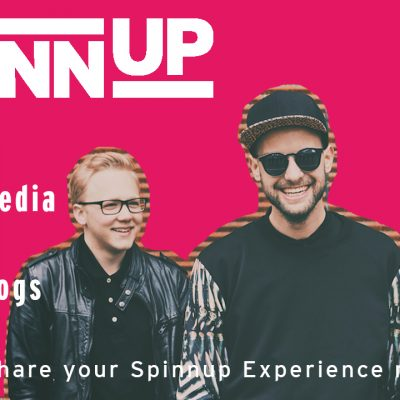 Share Your Spinnup Experience #1 – Social Media & Video Blogs