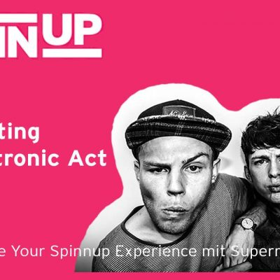 SHARE YOUR SPINNUP EXPERIENCE #12 – Songwriting als Electronic Act