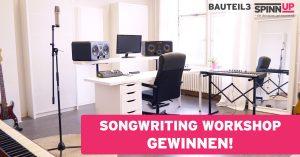 Songwriting Workshop mit bauteil3 und Spinnup in Berlin