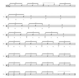 Drums Tutorial 6/8 Clave