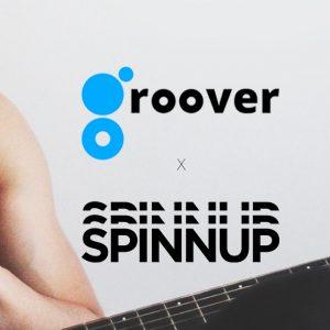 Spinnup s'associe à Groover pour aider les artistes à promouvoir leur musique