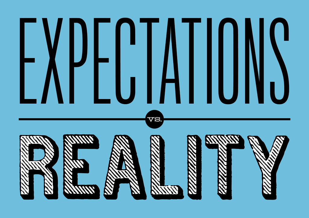 Image result for expectation vs reality