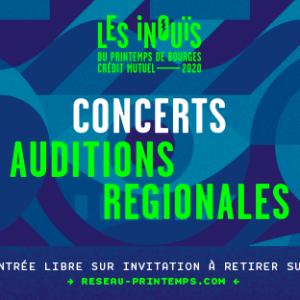 Les auditions régionales des iNOUïS 2020