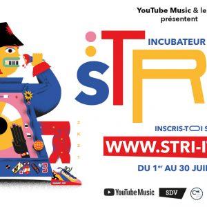 STRI-IT : L'incubateur d'artistes lance son appel à candidature pour la saison 2020/21