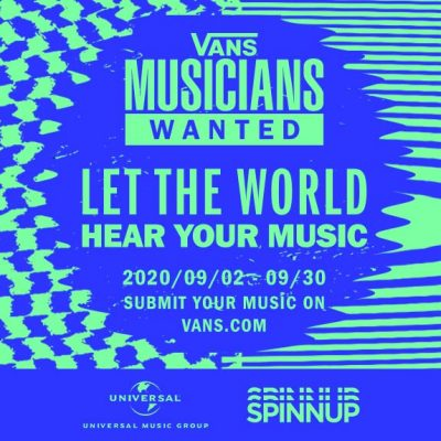 Spinnup Partners With Vans Musicians Wanted