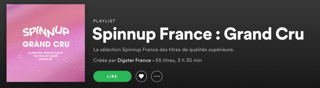 Spinnup Grand Cru Playlist