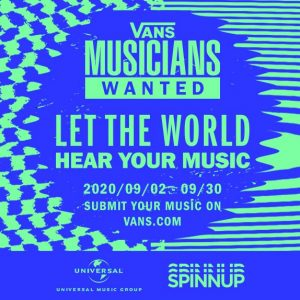 Vans Musicians Wanted に参加しよう!