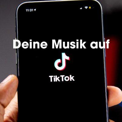 Wie du deine Musik auf TikTok hochladen kannst