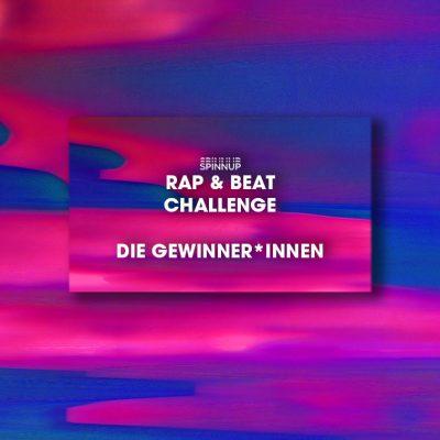 Die Gewinner*innen der Spinnup Rap & Beat Challenge stehen fest!